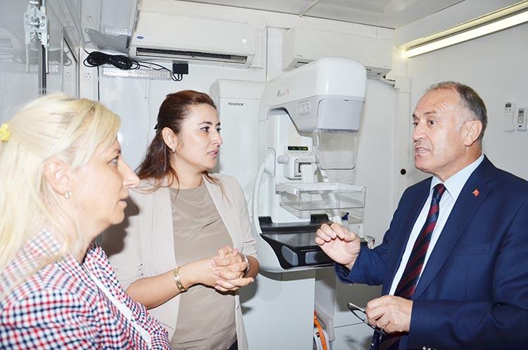 Beykoz'da kadınlara ücretsiz kanser taraması