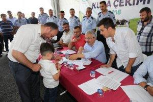 Beykoz'un Kurban Kent'inde kura heyecanı