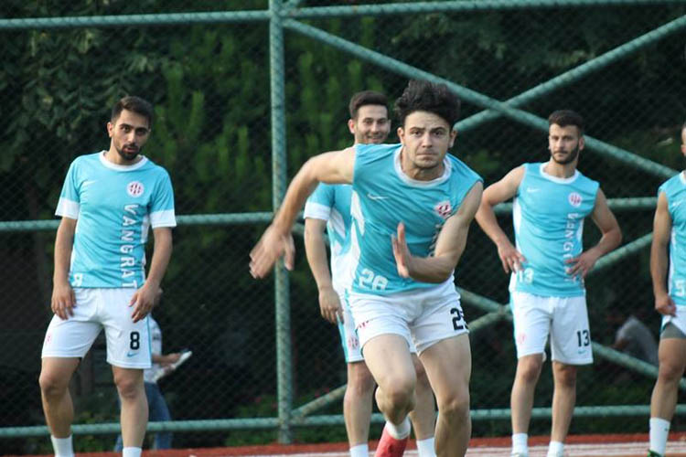 Ortaçeşmespor'da atletik performans testi