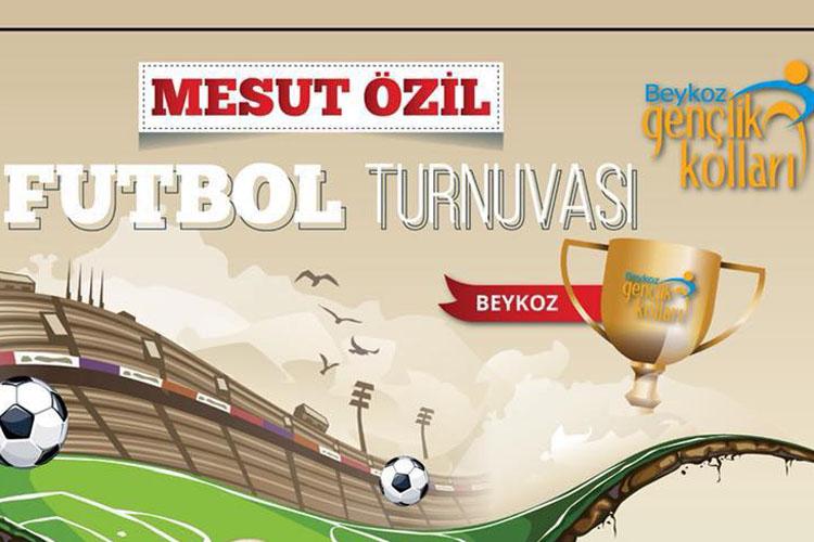 Beykoz'da Mesut Özil Turnuvası başlıyor