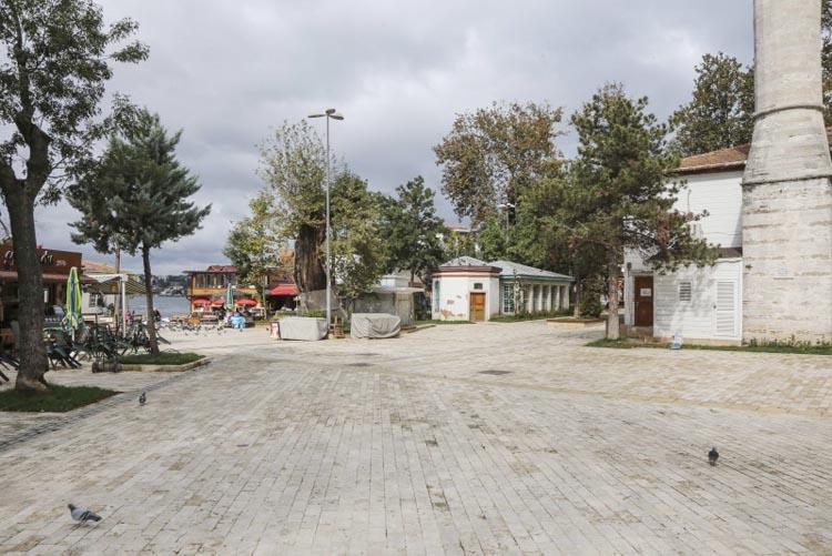 Beykoz Kanlıca Meydanı'na İBB imzası