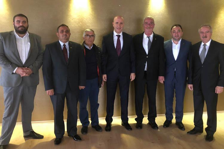 CHP Beykoz, Emniyet Müdürünü ziyaret etti