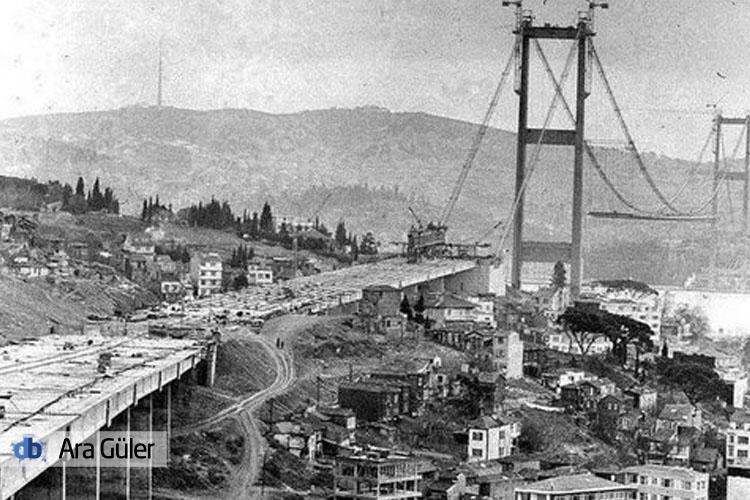 Ara Güler'in objektifinden siyah beyaz Beykoz