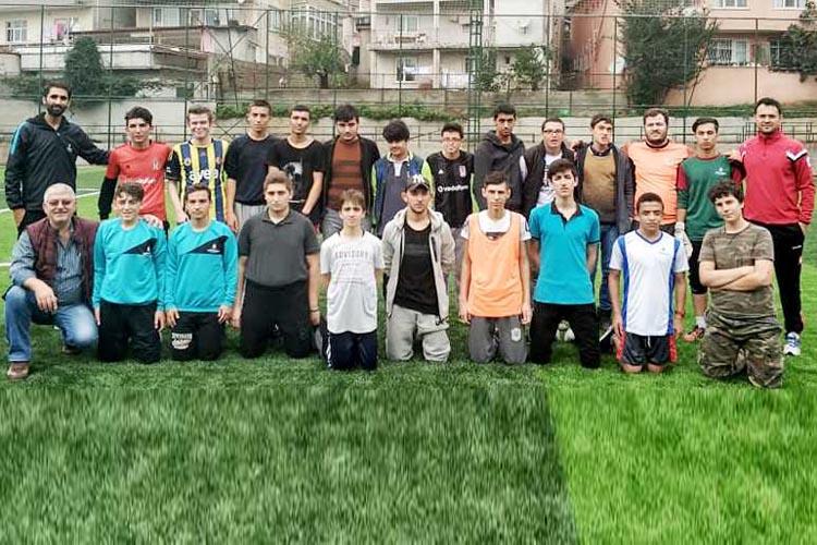 Beykoz'un en güzel futbolcuları Gümüşsuyu'nda