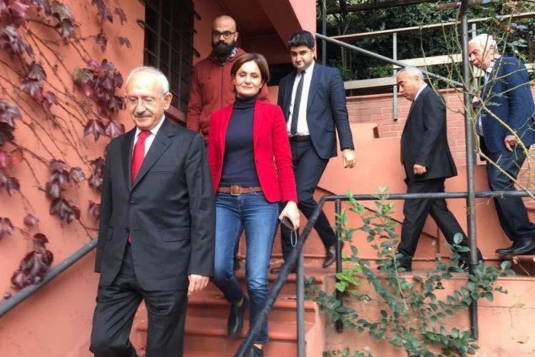 CHP Lideri Kılıçdaroğlu, Beykoz'a geldi