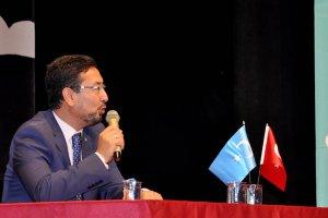 Doğu Türkistan Meclis Başkanı, Beykoz'da konuştu