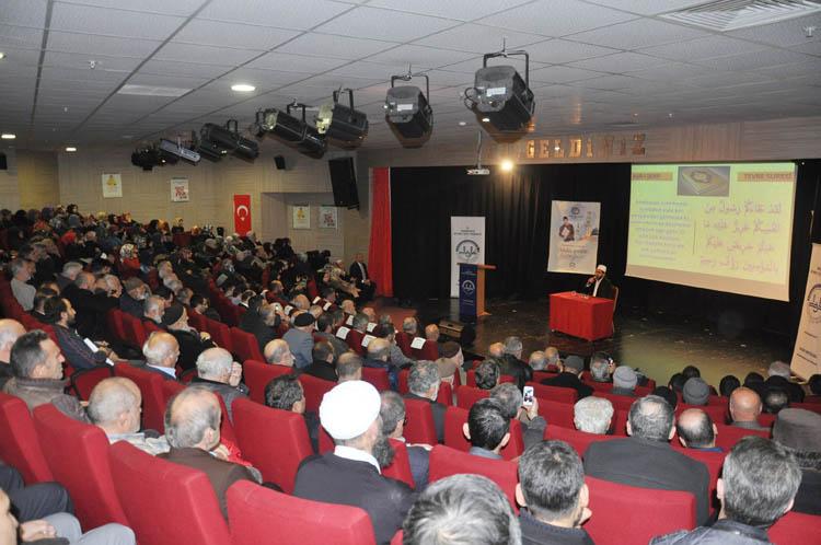 Beykoz'da Mevlid-i Nebi konferansı düzenlendi