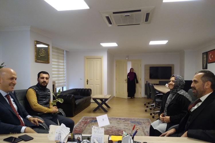 Beykoz Emniyet Müdüründen, Hanefi Dilmaç'a ziyaret