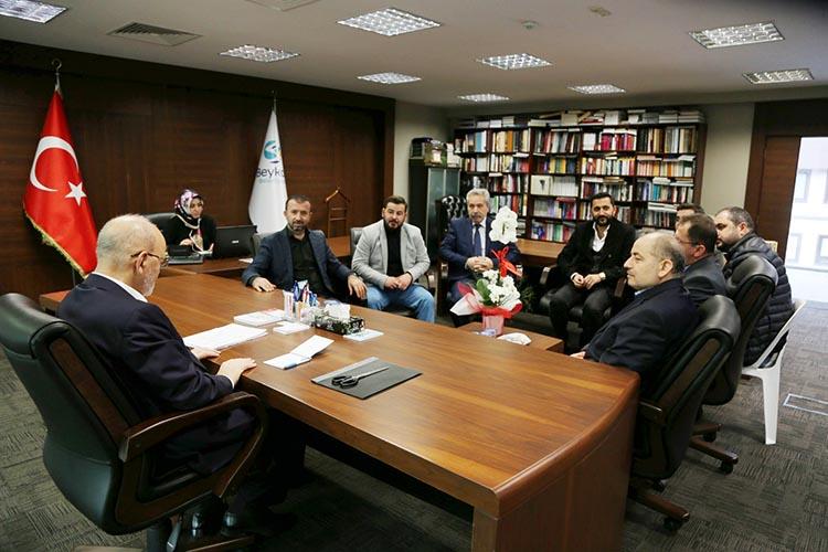 Beykoz Ordulular Derneği'nden protokol ziyaretleri