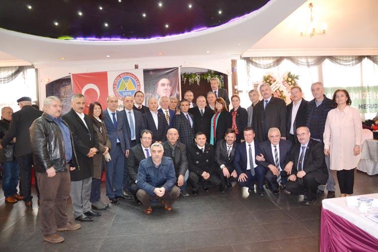 Beykoz'da Mesudiyeliler'in Başkanı Hakan Aydemir oldu