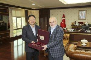 Şanghay Hukuk Bürosu'ndan Çelikbilek'e ziyaret