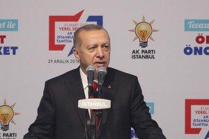 Erdoğan Beykoz'daki tepkilere cevap verdi