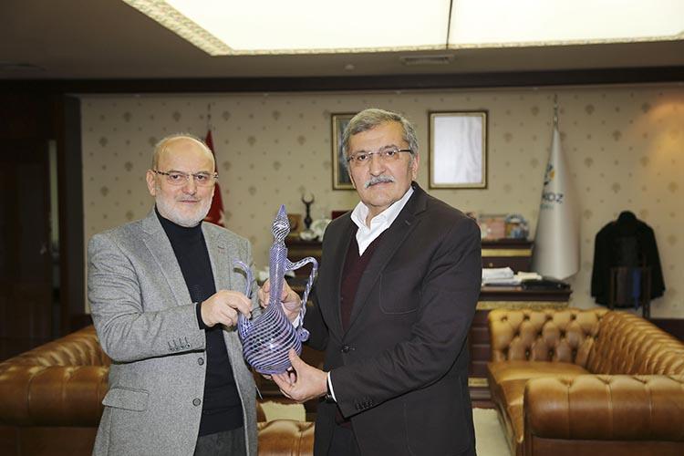 Murat Aydın'a Beykoz Belediyesi'nde brifing