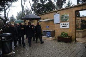 Murat Aydın Beykoz'da manevi ziyaretler yaptı