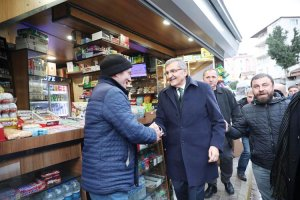 AK Parti adayı Murat Aydın Beykoz'a çabuk ısındı