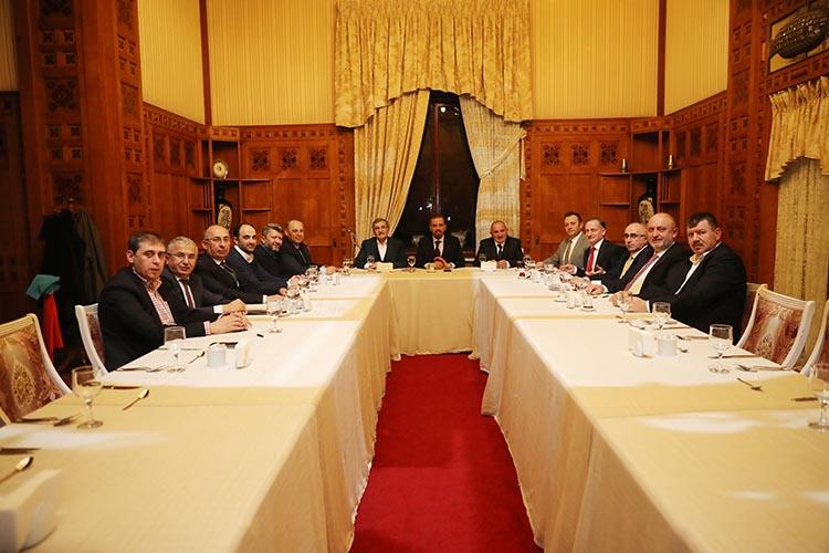 AK Parti Beykoz aday adayları Adayla buluştu