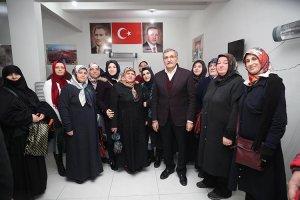 Murat Aydın'dan Kanlıca ve İncirköy'e ziyaret