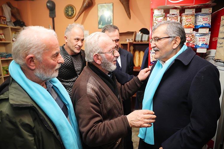 Murat Aydın Beykoz Poyrazköy'den canlı yayın yaptı