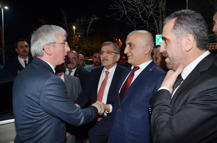 MHP Teşkilatları Beykoz'da salonlara sığmadı