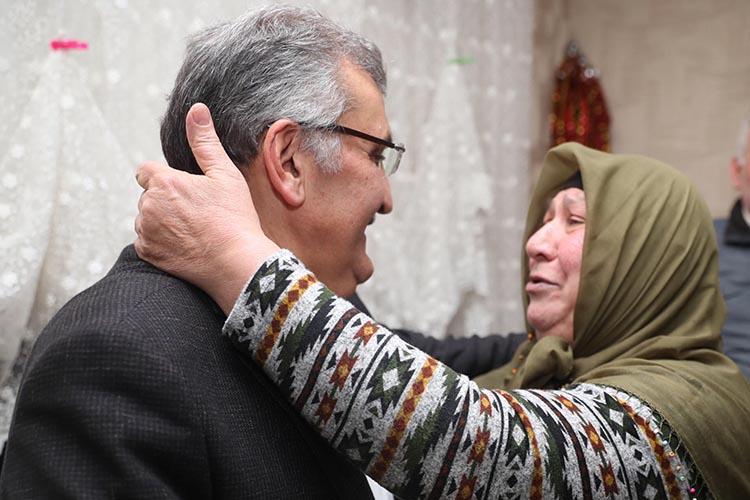 Beykoz'da Emine Teyze'nin Tayyip Erdoğan sevgisi