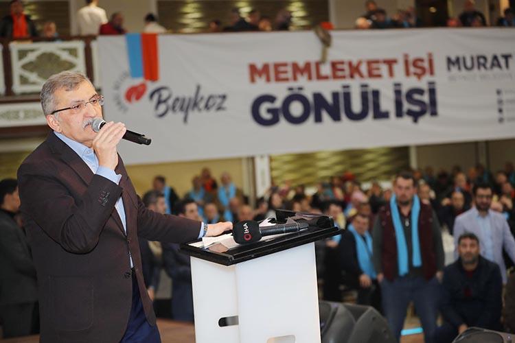 Türkiye'nin en büyük bahçesi Beykoz'da olacak