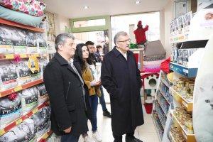 AK Parti Beykoz Adayı Kavacık'ta esnafı ziyaret etti