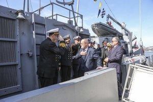 TCG Tufan Gemisi'nin Beykoz ziyareti