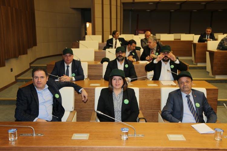 Beykoz Belediye Meclisi'nde Yeşilay Haftası