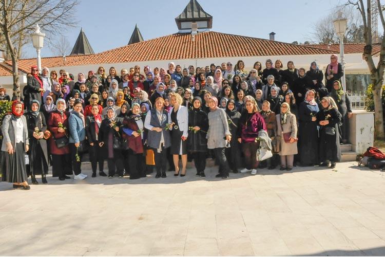 Beykoz'da 8 Mart Kadınlar Günü kutlaması