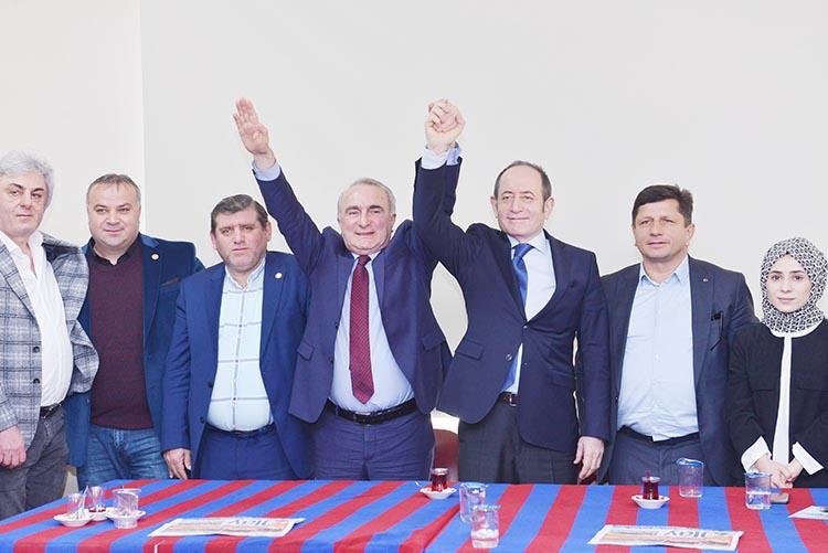 Hamzaçebi'den Tosun'a Çavuşbaşı desteği