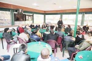 Murat Aydın site sakinlerine projelerini anlattı