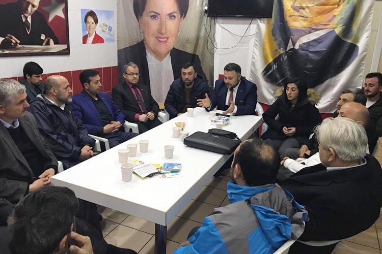 Murat Miniç, Yenimahalle muhtar adaylarıyla buluştu