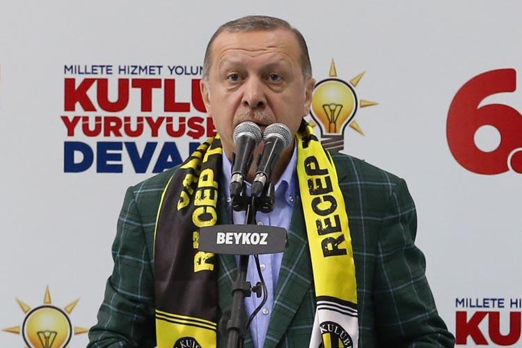 Cumhurbaşkanı Erdoğan, finali Beykoz'da yapacak.