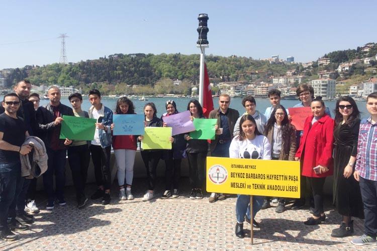 Beykoz'da lise öğrencilerinin hayvan duyarlılığı
