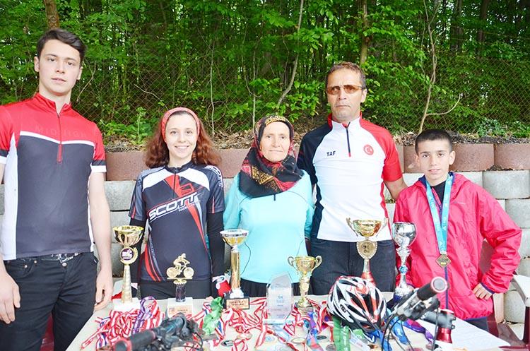 Beykoz'un aile boyu şampiyonları