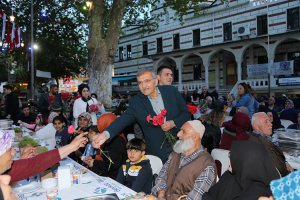 Beykoz Paşabahçe'de hem iftar, hem anneler günü