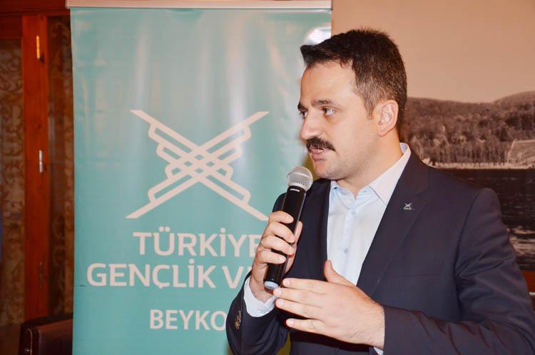TÜGVA Genel Başkanı Eminoğlu, Beykoz'dan seslendi