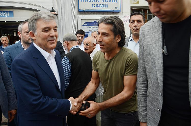 11. Cumhurbaşkanı Gül, bayramı Beykoz'da karşıladı