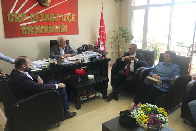 AK Parti Beykoz'un bayram ziyaretleri