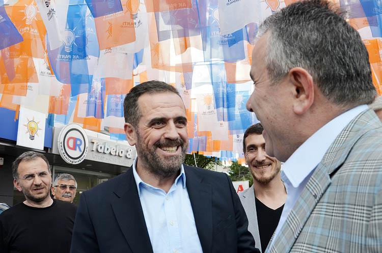 Ahmet Minder, AK Parti Beykoz'u ziyaret etti