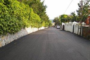 Beykoz'da asfaltlama çalışmaları sürüyor