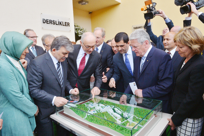 Türk Alman dostluğunun kalbi Beykoz