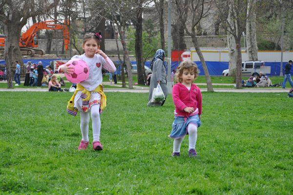Beykoz'da bahar sevinci yaşanıyor