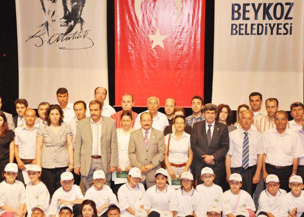 Yeşil Okul Projesi ödül töreni yapıldı