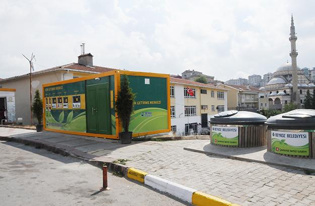 Beykoz'da yeni Atık Getirme Merkezleri kuruldu