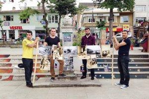 Beykoz Lojistik Öğrencilerinden Sokak Sergisi