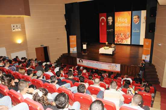 AK Partili gençlerin Necip Fazıl sevgisi