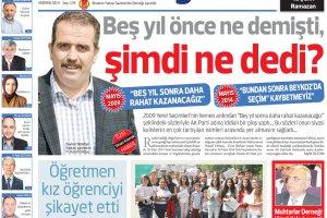 Dost Beykoz Gazetesi Haziran 2014... 134. Sayı