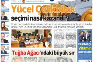 Dost Beykoz Gazetesi Mayıs 2014... 133. Sayı