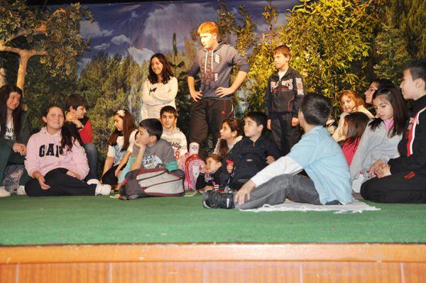 Beykoz Vakfı'nda Doğa oyunu sahnelendi